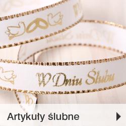 Ozdoby ślubne i komunijne sklep online
