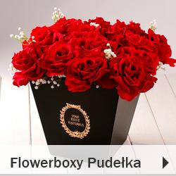 Flowerboxy Pudełka na kwiaty