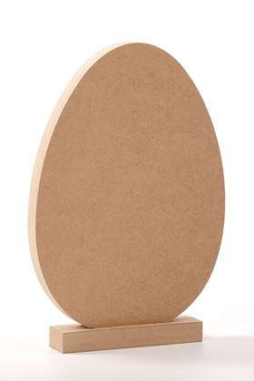 ef19c74c53216c Jajko drewniane gigant stojące 18/26 cm