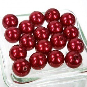 Perełki14 mm bordo- 50g