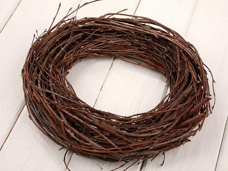 Wianek Wiosenny Brzozowy 25 30cm Pozostałe Drewno Gałązki